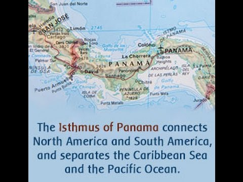 Facts About the Isthmus of Panama