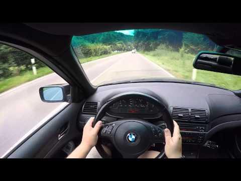 BMW e46 325i Test Drive #HD #POV