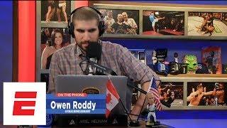 Video Owen Roddy: Conor McGregor will knockout Khabib Nurmagomedov | Ariel Helwani's MMA Show | ESPN MP3, 3GP, MP4, WEBM, AVI, FLV Oktober 2018