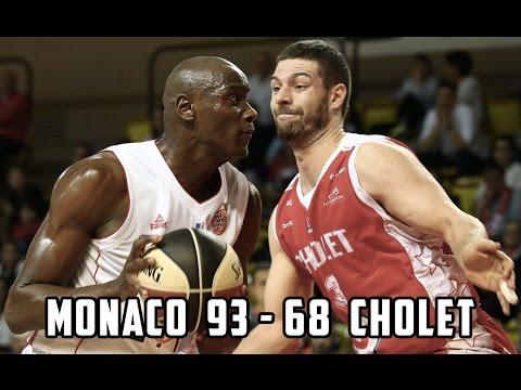 Pro A — Monaco 93 - 68 Cholet — Highlights