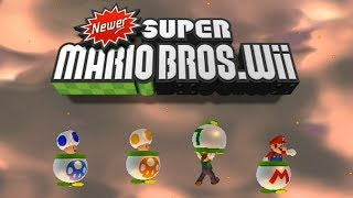 Every single different title screen in Newer Super Mario Bros Wii. This game is a hack made by Newerteam and can be downloaded here: http://newerteam.com/wii/download.php-My Twitter https://twitter.com/Typhlosion4Pres