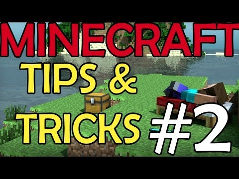 MINECRAFT: TIPS & TRICKS #2 [St3pNy]