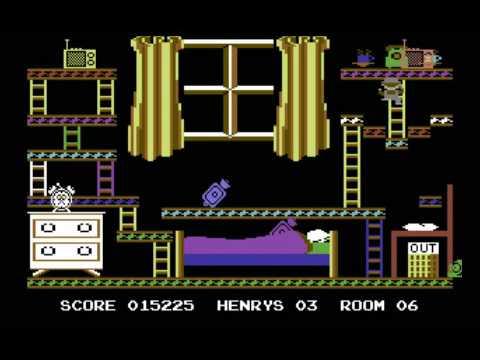 C64 Longplay - Henrys House (HQ)