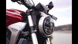 4. Details Honda CB300R 2019 | 2019 Honda CB300R Fist Look | 11 Fast Facts