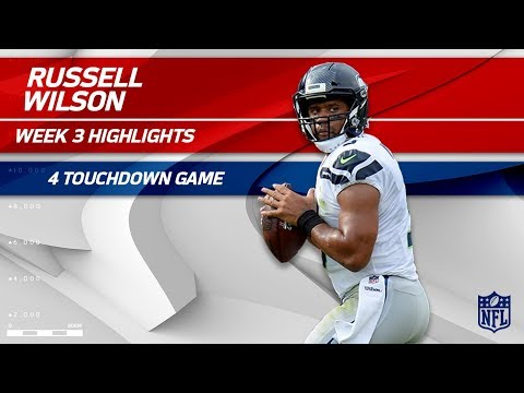 Video: Russell Wilson's Amazing 4 TD Game vs. Tennessee | Seahawks vs. Titans | Wk 3 Player Highlights