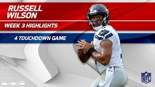 Russell Wilson's Amazing 4 TD Game vs. Tennessee | Seahawks vs. Titans | Wk 3 Player Highlights by NFL