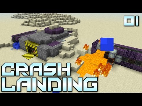 we - Minecraft Crash Landing Mod Pack - Show this video some LOVE if you're excited about this series!!! You've managed to crash land on a dry, dusty planet. No water, no food, no real supplies....