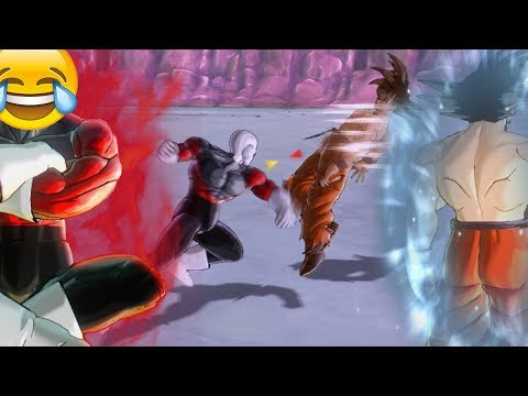 DLC 6 PRE-RELEASE HYPE! Great Value Jiren vs Walmart Ultra Instinct Goku! | DRAGON BALL XENOVERSE 2 (видео)