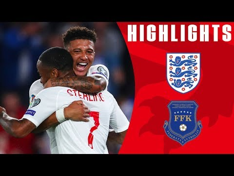 England 5-3 Kosovo | Sancho Bags First International Brace! | Euro 2020 Qualifiers | England