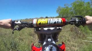 9. 05 CRF450R Test Ride