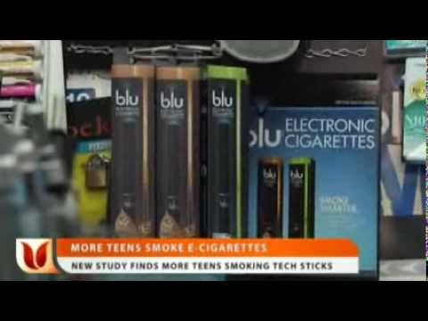 New Study Finds More Teens Smoking E-Cigarettes