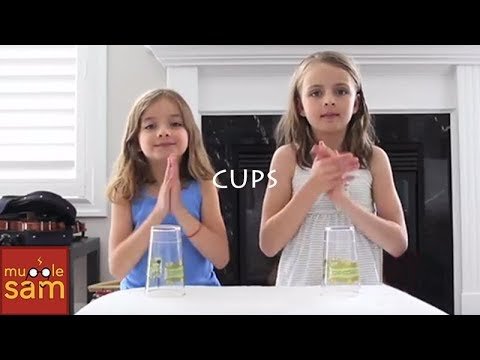 CUPS - Anna Kendrick - Pitch Perfect When I'm Gone 🎵10-Year-Old Sophia & 8-Year-Old Bella