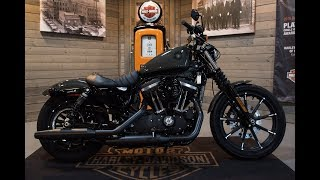 8. 2019 Harley Davidson Sportster Iron 883 XL883N- Industrial Gray