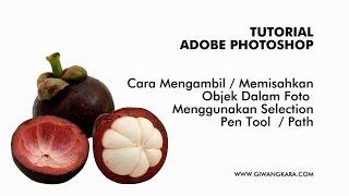 22 Ags 2014 ... Seleksi Objek Dalam Foto Menggunakan Pen Tool ... TEKNIK DASAR (1) CARA nMENGGUNAKAN PENTOOL photoshop :D - Duration: 5:37.
