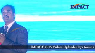 Awaken the Ekalavya Within by  V Ranjan Kumar at IMPACT VSKP  2015
