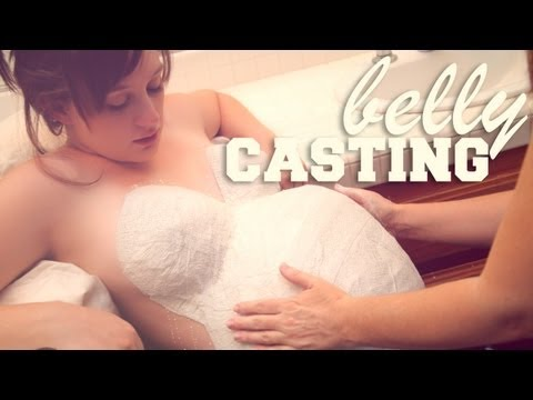 LOPSIDED PREGNANT BELLY CASTING – 36 Weeks Pregnant – Bumps Along the Way Pregnancy Vlog