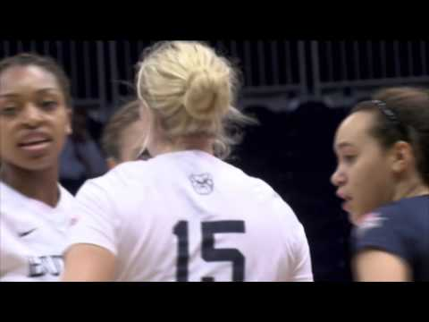 Butler Volleyball Highlights vs.  Northern Iowa
