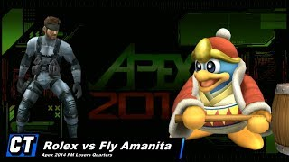 Rolex's Snake is too good (APEX 2014)