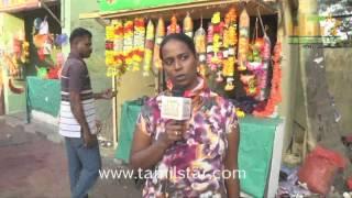 Radhika at Kadikhara Manithargal Movie Shooting Spot