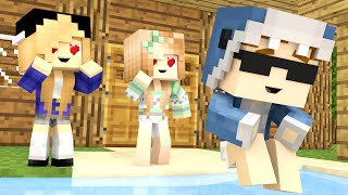Minecraft Daycare - BABY SWIM DATE!!