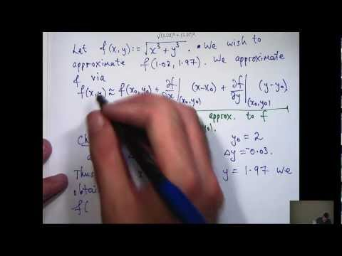 Taylorpolynome + Funktionen von zwei Variablen