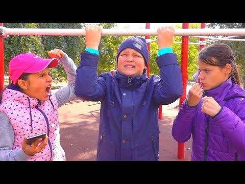 ЛЮБОВЬ СПОРТ или Пицца РОМА снова Всех ОБМАНУЛ kids children super girl