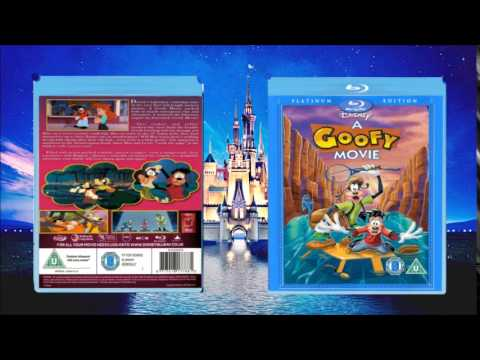 A GOOFY MOVIE BLU RAY Cover