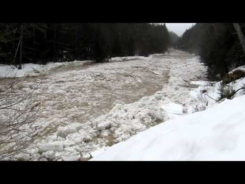 Active Ice Flow Footage