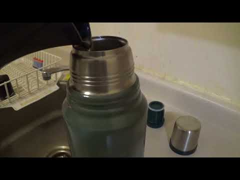 put hot water in my stanley green steel thermos made in china b 2017