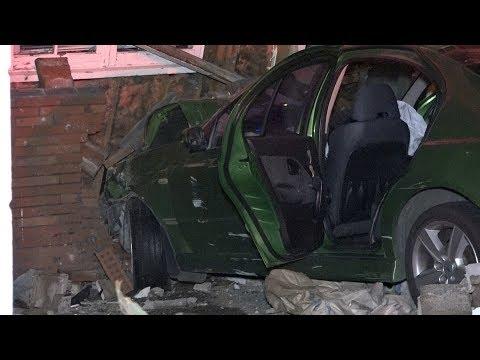 Stolen car crashes into a Remuera house