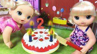 Video Baby Alive Oyuncak Bebek Doğum Günü Partisi | Bebek Bakma Oyunu | EvcilikTV MP3, 3GP, MP4, WEBM, AVI, FLV November 2017