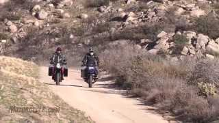 10. 2014 BMW R1200GS Adventure vs KTM 1190 Adventure Shootout