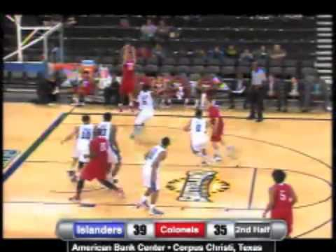 Islanders MBB Highlights vs. Nicholls