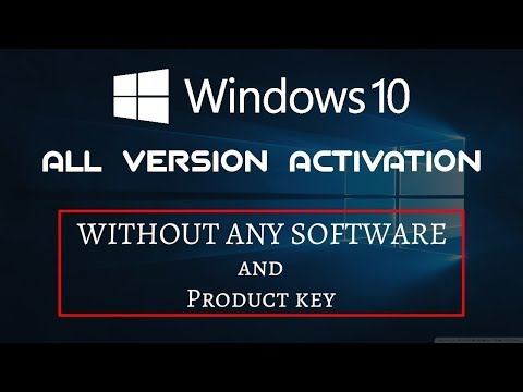 How to activate Windows 10 Pro 2019 All Versions! (Permanent)