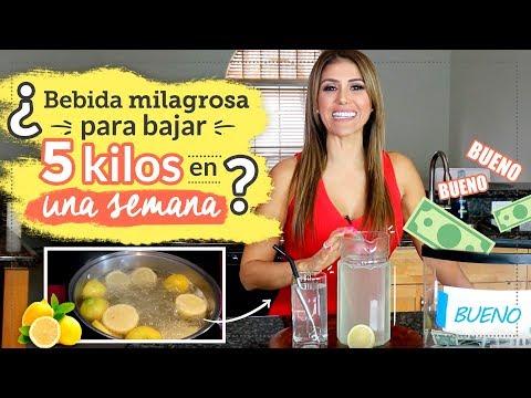 Dieta para bajar de peso - ¿Bebida milagrosa para bajar 5 kilos en una semana? La verdad de la dieta del limón
