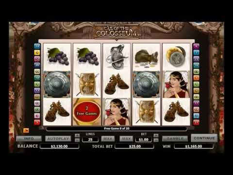 CALL OF THE COLOSSEUM +FREE SPINS! online free slot SLOTSCOCKTAIL microgaming