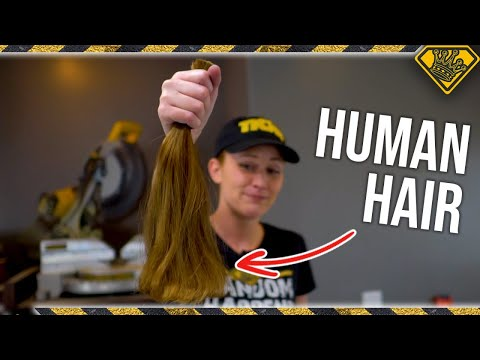 Can You Make ROPE from HUMAN HAIR?