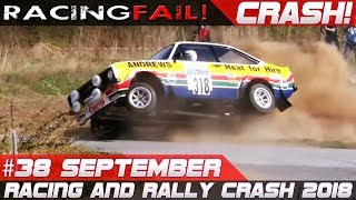Video Racing and Rally Crash | Fails of the Week 38 September 2018 MP3, 3GP, MP4, WEBM, AVI, FLV November 2018