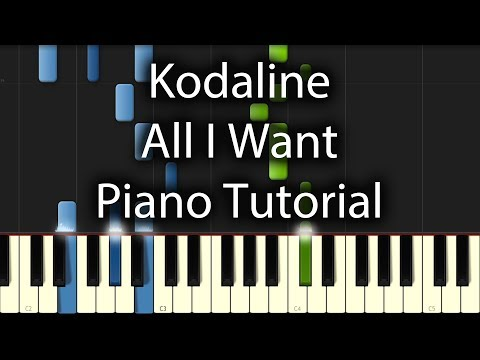 All I Want - Kodaline video tutorial preview