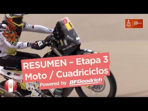 Dakar - Etapa 3 Resumen motos/quads