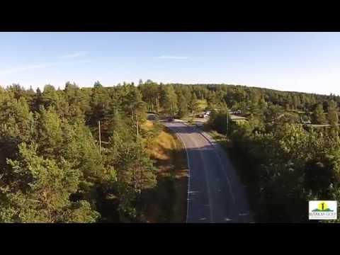 Bjärkas Golf Fly By Video, Kimito, Finland