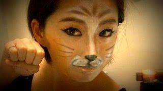 ☆Halloween Catmakeup☆