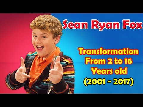Sean Ryan Fox transformation from 2 to 16 years old