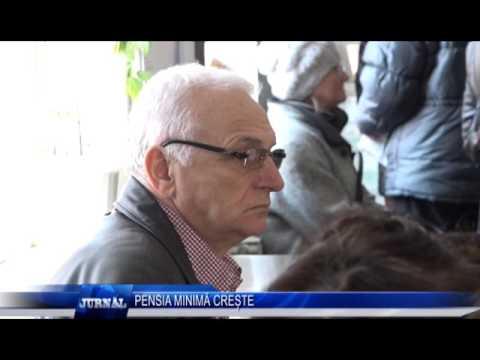 PENSIA MINIMA CRESTE