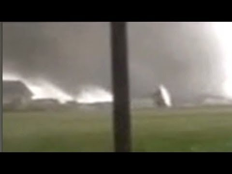 midwest - Video shows tornadoes moving across the Midwest and devastation left in the wake of the storms.