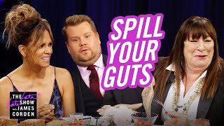 Video Spill Your Guts or Fill Your Guts w/ Halle Berry & Anjelica Huston MP3, 3GP, MP4, WEBM, AVI, FLV Juli 2019