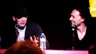 Chris Evans and Tom Hiddleston at the Avengers Panel (NYCC 2011) full download video download mp3 download music download