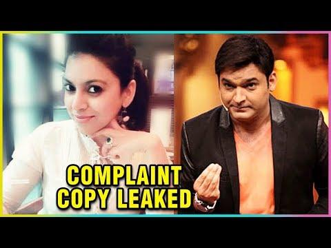 Kapil Sharma's COMPLAINT COPY Against Preeti And N