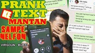 Video GILLAA !! PRANK TEXT KE MANTAN MALAH DI TELFON (Virgoun - Bukti) MP3, 3GP, MP4, WEBM, AVI, FLV Februari 2019