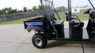 8. 2014 Kawasaki Mule 4010 Trans Black / Blue   Overview and Review    For Sale $11,449